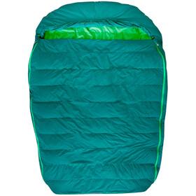 Marmot Yolla Bolly Doublewide 30 Sleeping Bag Regular, botanical garden/kelly green